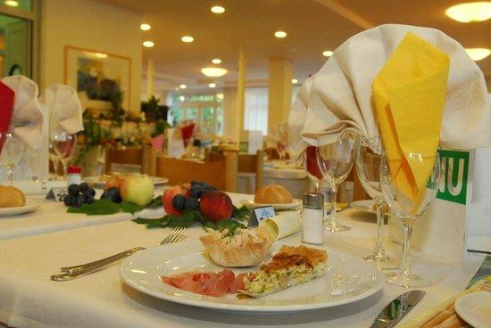 Hotel Helvetia: Particolare del ristorante