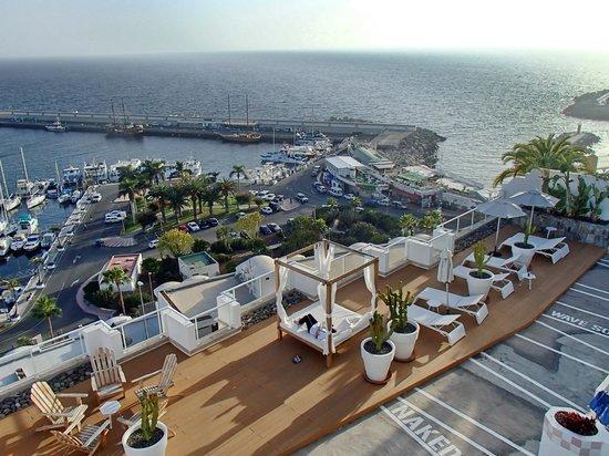 Marina Bayview: Utsikt fra øverste rekke