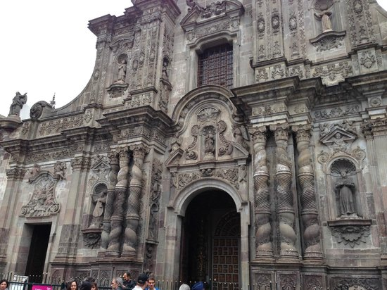 Iglesia de La Compania de Jesús: Devanture de l'église
