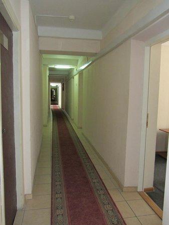 Holosiivskyi Hotel: коридор