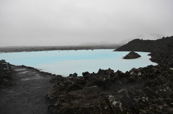 Iceland Travel - Day Tours: Blue Lagoon (hot water)