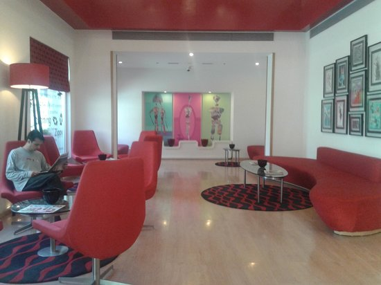 Red Fox Hotel, Delhi Airport: The lounge