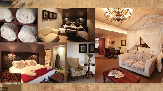 Oxbow Country Estate: Accommodation Overview