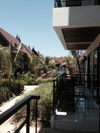 T-Villa Resort: from my room