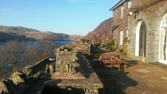 Haweswater Hotel: Lake view!