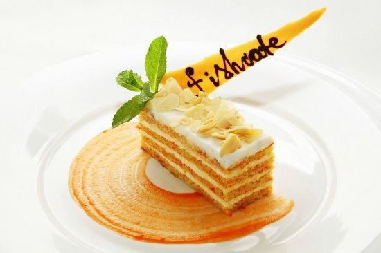 Fish Cafe: Морковный торт