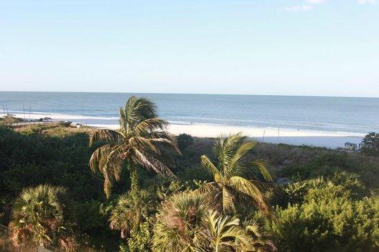 Hilton Marco Island Beach Resort: Вид с балкона.