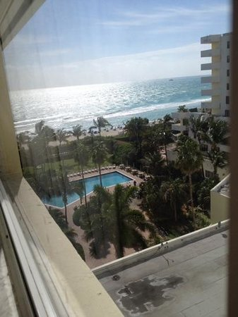 Holiday Inn Miami Beach: vista desde el 912