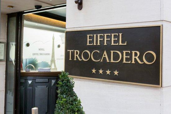 Hotel Eiffel Trocadero : Entrée