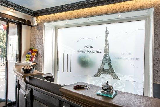 Hotel Eiffel Trocadero : Réception