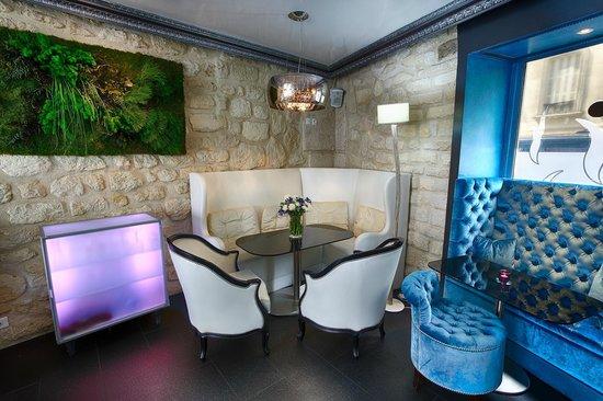 Hotel Eiffel Trocadero : restaurant/lounge