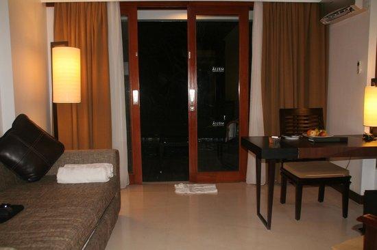 Melia Bali: de la chambre sortie vers le lagoon
