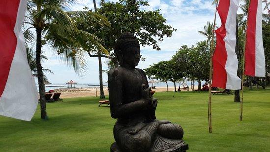 Club Med Bali : buda plaj önü