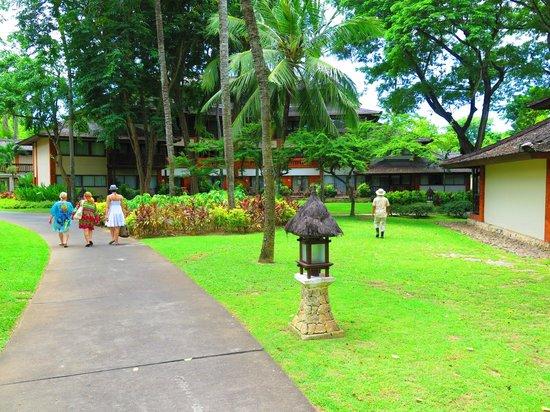 Club Med Bali : bahçe