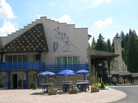 Au Moulin des Truites Bleues: Facade été