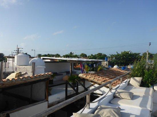 Posada Paraiso Azul : Aussicht von der Dachterasse