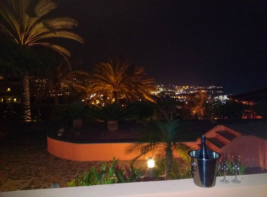 Melia Jardines del Teide : View from our room