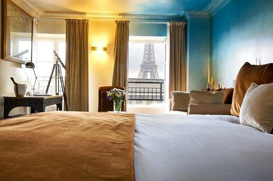 Hotel Eiffel Trocadero : Suite Eiffel
