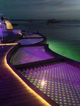 Ibiza Beach Club: Outdoor view