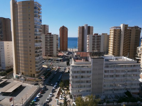 Flash Hotel Benidorm: sea view from room 1108
