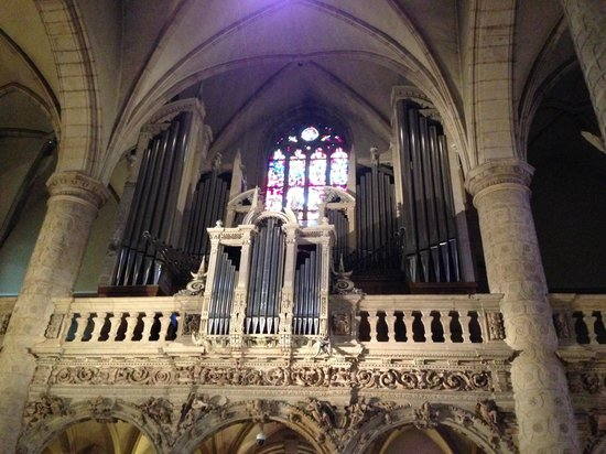 Notre Dame Cathedral (Cathedrale Notre Dame): organo