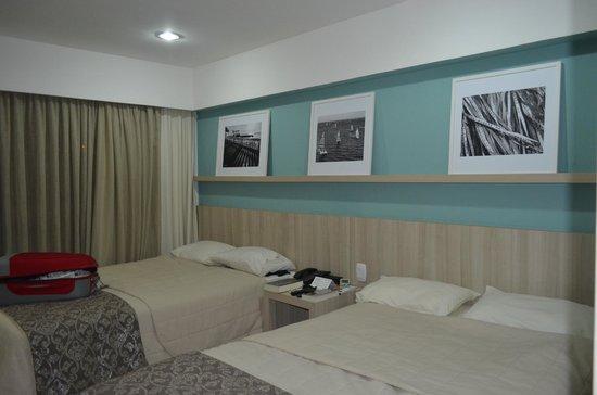 Monte Pascoal Praia Hotel Salvador: Dormitorio