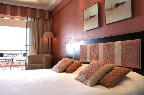 Hotel Ibersol Cavaliere Sur Plage : Chambre Double Vue Mer