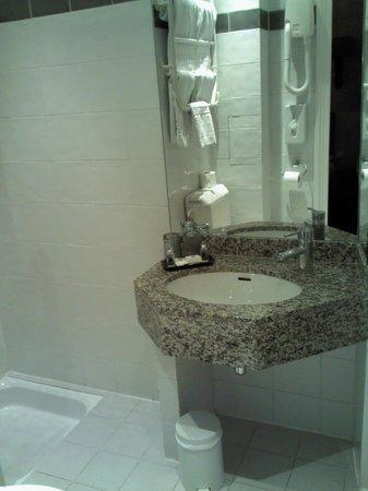 Des Ducs d'Anjou : Small Bathroom