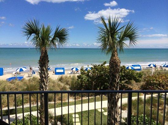 Costa d'Este Beach Resort & Spa : Blick auf den hoteleigenen Strand