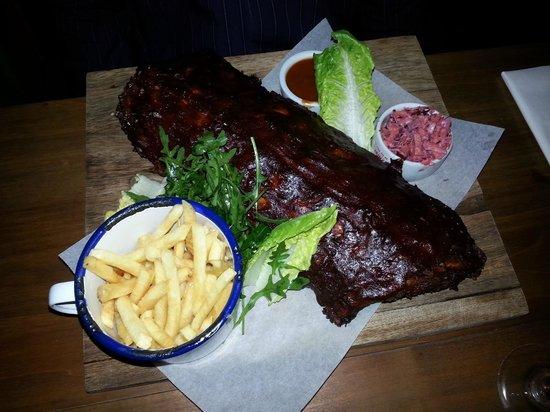 GPT Smokehouse: Full rack of ribs