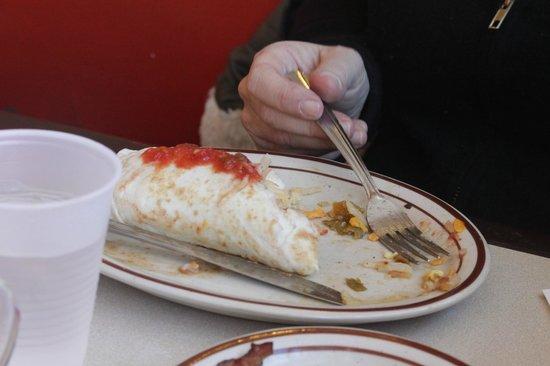 Frontier Restaurant : Breakfast burrito!