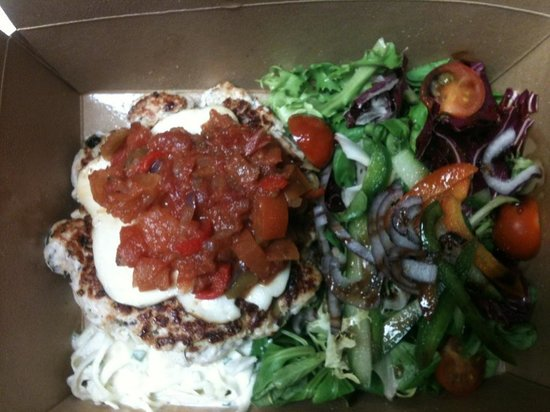 Green Leaf Cafe Torquay: Take out lunch delicious.
