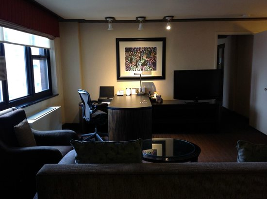 Dumont NYC–an Affinia hotel: living room