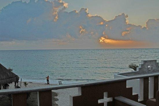 Mayan Beach Garden: View from room deck