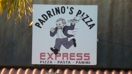 Padrino's Pizza Express: Padrino's, good food, quick friendly service.