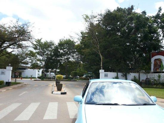 Taj Pamodzi Hotel: Entrance to Taj Pamodzi
