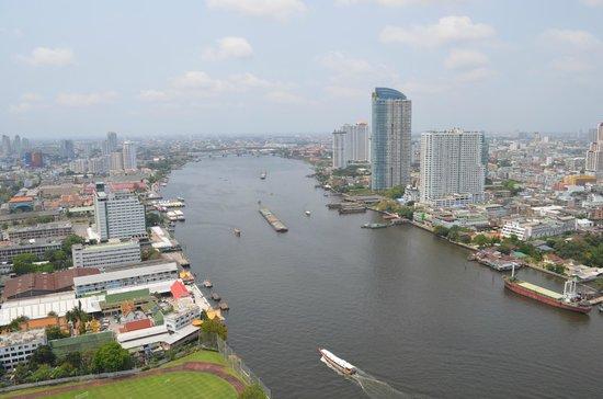 Chatrium Hotel Riverside Bangkok : vista dalla camera 3208