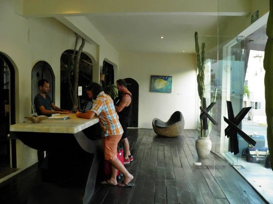Kinbe Hotel : Reception