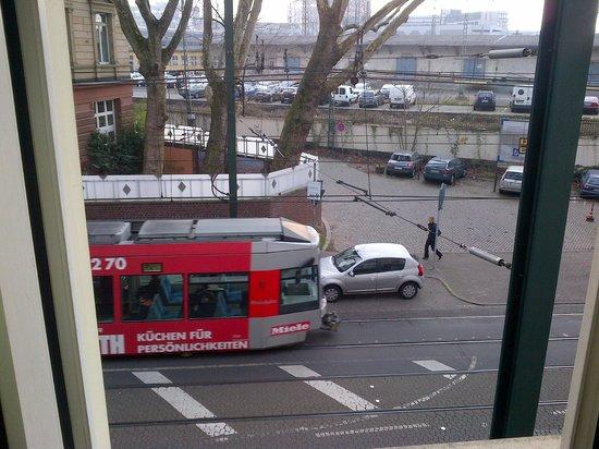 Best Western Ambassador Hotel: View from window