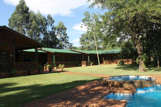 Toucan Lodge: Vista da área externa da pousada