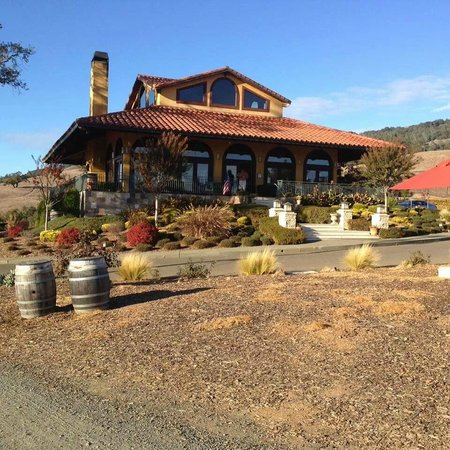 Hanna Winery, Healdsburg CA