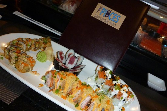Pisces Sushi and Global Bistro: An AHHHHH moment!