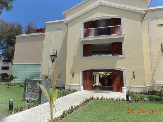 Grand Palladium Bávaro Suites Resort & Spa: Entrada a las habitaciones