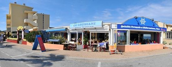 restaurant la louisiane dans le lavandou avec cuisine m diterran enne. Black Bedroom Furniture Sets. Home Design Ideas