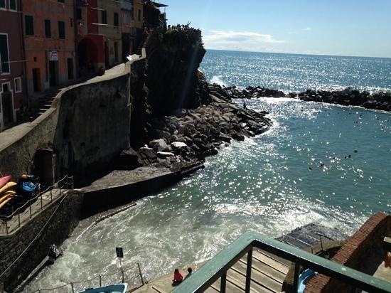 Allo Scalo dei Mille: room with a view