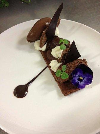 Hotel Particulier Montmartre : Tout chocolat, délice en plusieurs textures