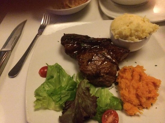 Spetada: Rump steak with veggies