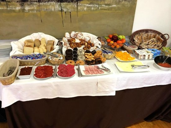 Hotel Mediterraneo : Выбор на завтрак