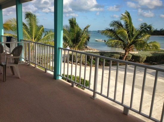 Hideaways at Palm Bay: View from balcony of unit #37