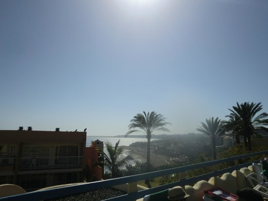 IFA Interclub Atlantic Hotel: This is the beautiful view from the baby pool area.